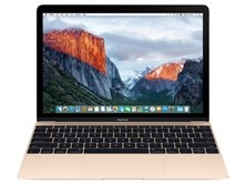 Apple MacBook with Retina Display (12 inch) Notebook Core M3 (1.1GHz) 8GB 256GB (SSD) WLAN BT Webcam Mac OSX El Capitan (Intel HD Graphics 515) Gold