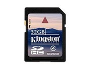 32GB Kingston SDHC Card
