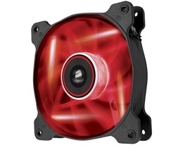 Corsair Air Series AF120 LED Red Quiet Edition High Airflow 120mm Fan Single Fan