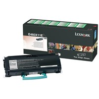 Lexmark Corporate Return Program (Extra High Yield: 15,000 Pages) Black Toner Cartridge for E460