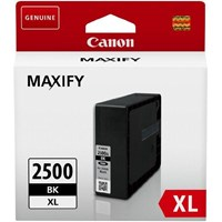 Canon PGI-2500XLBK (Yield: 2,500 Pages) High Yield Black Ink Cartridge