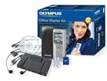Olympus DS-2500 Digital Voice Recorder and AS-2400 Office Starter Kit