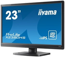 "iiyama ProLite X2380HS 23"" Full HD LED IPS Monitor"