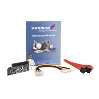 StarTech.com IDE 40 Pin Female to SATA Adaptor Storage controller 1 Channel IDE 133 MBps SATA