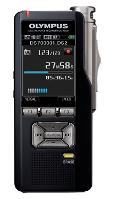 Olympus DS-7000 Digital Voice Recorder with 2 inch LCD Screen