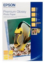 Epson Premium Glossy Photo Paper 255gsm (10 x 15cm) 1 x Pack of 50 Sheets - Shipper Box