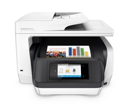 HP OfficeJet Pro 8720 (A4) Colour Inkjet All-in-One Wireless Printer (Print/Copy/Scan/Fax) 256MB 4.3 inch Colour LCD 24ppm ISO (Mono) 20ppm ISO (Colour) 30,000 (MDC)