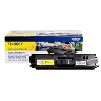 Brother TN-900Y (Yield: 6,000 Pages) Yellow Toner Cartridge