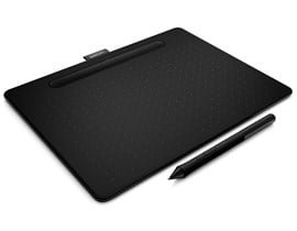 Wacom Intuos CTL-6100WL Medium Creative Pen Tablet with Bluetooth (Black) - EN, DE, SV, PL, RU