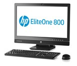 HP EliteOne 800 G1 (23 inch) All-in-One PC Core i5 (4570S) 2.9GHz 4GB 500GB DVD Writer SuperMulti LAN Windows 7 Pro 64-bit+Media Upgrade to Windows 8 Pro 64-bit (HD Graphics 4600)