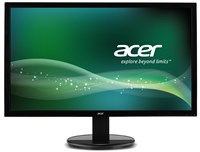 Acer K242HQLC 24 inch LED 1ms Monitor - Full HD, 1ms, HDMI, DVI