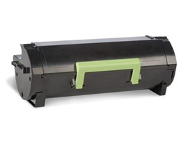Lexmark 502 (Black) Toner Cartridge (Yield 1500 Pages)