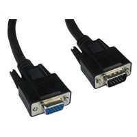 (2m) SVGA Extension Cable (Black)