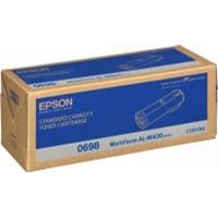 Epson 0698 Standard Capacity Black Toner Cartridge (Yield 12000 Pages) for AcuLaser AL-M400 Series Mono Laser Printers