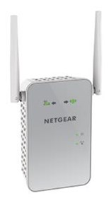NETGEAR EX6150-100UKS AC1200 Dual Band Gigabit 802.11ac (300Mbps + 900Mbps) Wi-Fi Range Extender with External Antennas (Wi-Fi Booster)