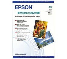 Epson (A3) Archival Matte Paper (50 Sheets) 189gsm (White)