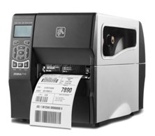 Zebra ZT200 Series ZT220 (203dpi) Direct Thermal Printer 128MB SDRAM, 128MB Flash 152mm/s, Print Width 104mm Serial/USB Standard Version (Tear) UK/Euro Power Cords