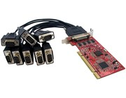 StarTech.com 8 Port Low Profile RS232 PCI Serial Card with 16950 UART