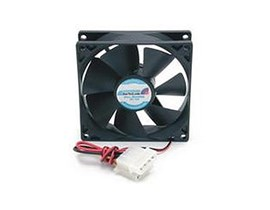 StarTech.com Dual Ball Bearing PC Case Cooling Fan with Internal Power Connector - 9.2 x 2.5cm