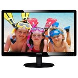 Philips (24 inch) LCD Monitor with SmartControl Lite LED Backlight 1920x1080 (Black)