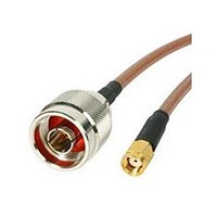 StarTech.com Wireless Antenna Adaptor Cable - N Male to RP-SMA