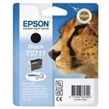 Epson T0711 Genuine Ink Cartridge - Black