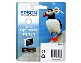 Epson Puffin T3240 (14ml) Ultrachrome Hi-Gloss2 Gloss Optimizer Ink Cartridge for SureColor SC-P400 Printer