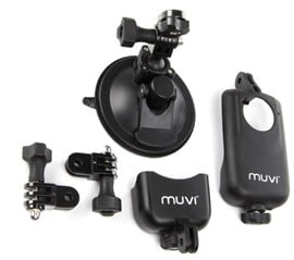 Veho Universal Suction Mount (Black) with Cradle