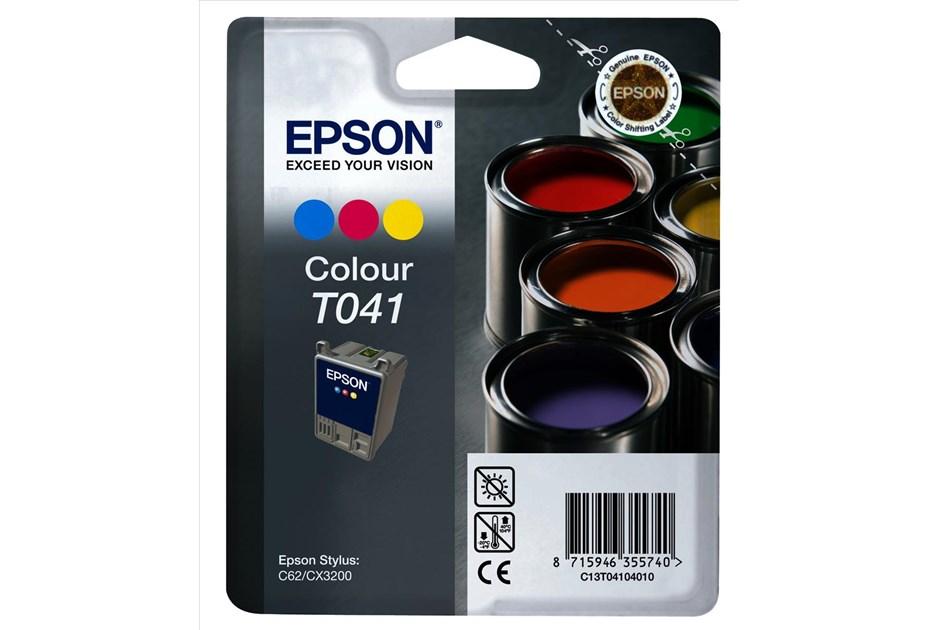 C Epson T041 Color do C62,CX3200,
