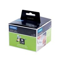 Dymo Multi-Purpose Removable Labels on a Roll (Black on White) Pack of 1000 Labels