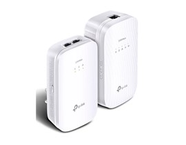 TP-Link AV2000 TL-WPA9610 2000Mbps Gigabit Powerline AC Wi-Fi Kit (White)