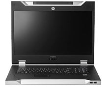 HP LCD8500 (1U) Rackmount Console Kit (UK)