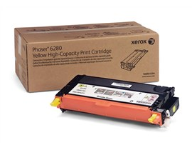 Xerox 106R01394 (Yield: 5,900 Pages) Yellow Toner Cartridge