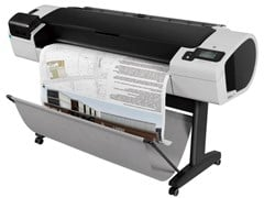 HP DesignJet T790 44 inch (118cm) Large Format Colour Inkjet ePrinter