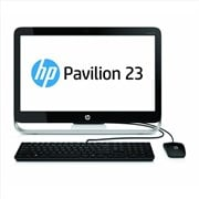 HP Pavilion 23-g127na (23 inch) All-in-One PC Core i3 (4150T) 3GHz 8GB 1TB DVD±RW WLAN BT Webcam Windows 8.1 64-bit (HD Graphics)