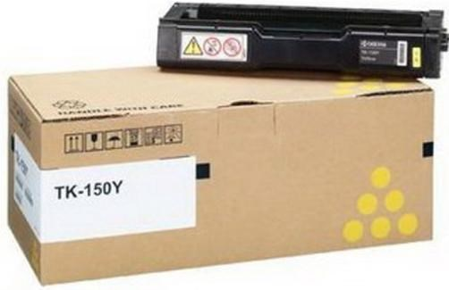Kyocera TK-150Y Yellow (Yield 6,000 Pages) Toner Cartridge for FS-C1020  Multi Function Printers