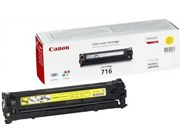 Canon 716 (Yellow) Toner Cartridge (Yield 1,500 Pages)