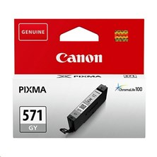 Canon CLI-571GY Grey 7ml (Yield 125 Pages) Ink Cartridge
