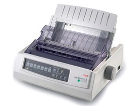 OKI Microline ML3320eco 9-pin Dot Matrix Printer 80 Column 240x216dpi USB/Parallel (Epson FX, IBM ProPrinter, OKI MicroLine Emulation)