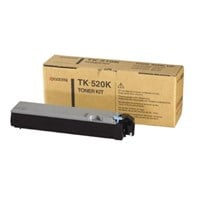 Kyocera TK-520K (Yield: 6,000 Pages) Black Toner Cartridge