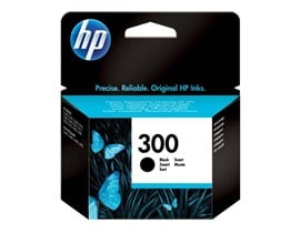 HP 300 Black Ink Cartridge with Vivera Ink (Yield 200 Pages) for ENVY 110 e-All-in-One Printer