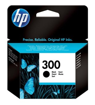 HP No.300 Black Ink Cartridge with Vivera Ink