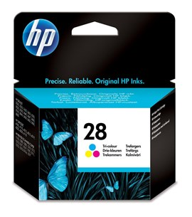 HP No. 28 C8728A Tri-Colour Ink Cartridge