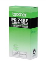 Brother Fax Ribbon (Yield 576 Pages) Black Pack of 4