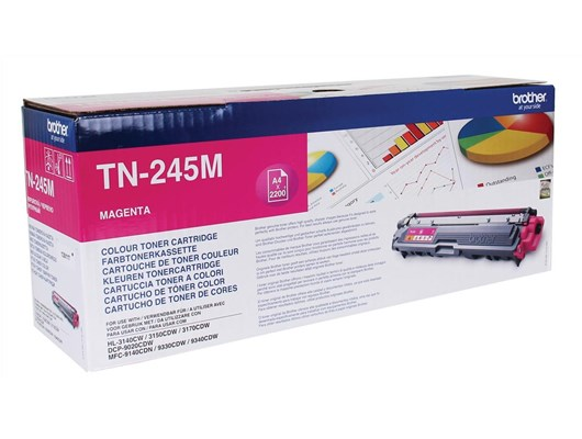 Brother TN245M Magenta Toner (2200 Pages)