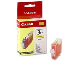 Canon BC1-3eY Ink Cartridge - Yellow, 13ml (Yield 380 Pages)