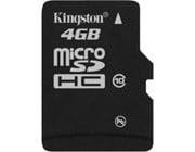 Kingston MicroSDHC 4GB Card (Class 10)