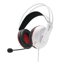 Asus Cerberus Gaming Headset with Large 60mm Neodymium Drivers (White)