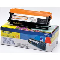 Brother TN-325Y (Yield: 3,500 Pages) Yellow Toner Cartridge