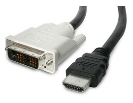 StarTech.com 6 feet HDMI  to DVI-D Cable - M/M